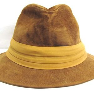 Stetson Men's Suede Leather Fedora Style Hat